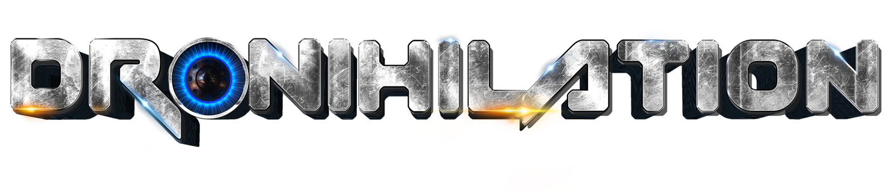 Dronihilation game logo